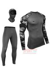 Фото 3 Термобельё женское спортивное Radical Rough Military grey, термокостюм с балаклавой, теплый, серый