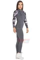 Фото 2 Термобельё женское спортивное Radical Rough Military grey, термокостюм с балаклавой, теплый, серый