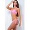 Фото 2 Купальник раздельный Katrin 862-1-LightPink, розовый, с пуш-ап и косточками