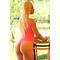 Фото 3 Купальник сдельный розовый классический-стринг Totalfit K8-C35
