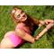 Фото 2 Купальник сдельный розовый классический-стринг Totalfit K8-C35