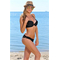 Фото 3 Раздельный купальник для пляжа Katrin 770-25-black, чёрный