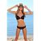 Фото 2 Раздельный купальник для пляжа Katrin 770-25-black, чёрный