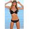 Раздельный купальник для пляжа Katrin 770-25-black, чёрный