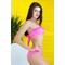 Фото 2 Раздельный купальник розовый KR1-C2 Totalfit с пуш-апом
