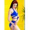 Фото 3  Раздельный купальник с юбкой Totalfit KR5-C12  Синий