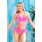 Фото 4  Раздельный купальник с юбкой Totalfit KR5-C2  Розовый