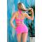 Фото 3  Раздельный купальник с юбкой Totalfit KR5-C2  Розовый