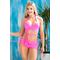 Раздельный купальник с юбкой Totalfit KR5-C2  Розовый