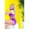 Фото 3  Раздельный купальник с юбкой Totalfit KR5-C28 Фиолетовый