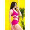 Фото 3  Раздельный купальник с юбкой Totalfit KR5-C3  Малиновый
