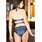 Фото 3  Раздельный купальник с юбкой Totalfit KR5-C31 серый