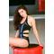 Фото 4  Сдельный купальник черный Totalfit K10-C10/31 с вставками