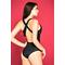 Фото 3 Слитный купальник с сеткой Totalfit K14-C10, чёрный