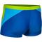 Фото 2 Мужские плавки боксеры Aqua Speed Dario, синие с салатовым и бирюзовым