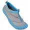 Фото 2 Аквашузы детские для мальчика (тапочки для пляжа) Spokey Reef, серый с голубым