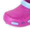 Фото 6 Сабо (шлепанцы пляжные) детские Spokey Fliper, розовые с голубым