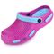 Фото 3 Сабо (шлепанцы пляжные) детские Spokey Fliper, розовые с голубым