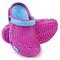 Фото 2 Сабо (шлепанцы пляжные) детские Spokey Fliper, розовые с голубым