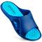 Фото 2 Шлепанцы пляжные мужские Spokey Lido 926104, синие с голубым