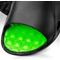 Фото 2 Шлепанцы пляжные мужские Spokey Lido (926295), черные с зеленым