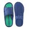 Фото 5 Пляжні шльопанці чоловічі Spokey Orbit, сині з зеленим