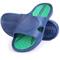 Пляжні шльопанці чоловічі Spokey Orbit, сині з зеленим