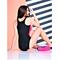 Фото 2  Купальник сдельный Totalfit KS1-C10/27 черный с розовым