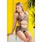 Раздельный купальник с юбкой Totalfit KR5-C22  Бронзовый