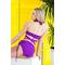 Фото 2  Раздельный купальник с юбкой Totalfit KR5-C28 Фиолетовый