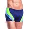 Фото 2 Плавки мужские  Shepa 034, синие с зеленой полоской