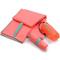 Фото 2 Быстросохнущее полотенце Meteor Towel L 80х130 см, из микрофибры, короловое (розовое)