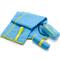 Фото 2 Быстросохнущее полотенце Meteor Towel M 50х90 см, из микрофибры, голубое
