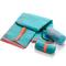 Фото 2 Быстросохнущее полотенце Meteor Towel S 42х55 см, из микрофибры, бирюзовое