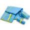 Фото 2 Быстросохнущее полотенце Meteor Towel S 42х55 см, из микрофибры, голубой