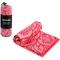 Охлаждающее полотенце Spokey Mandala 80х160 , быстросохнущее, розовое