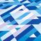 Фото 2 Охлаждающее полотенце Spokey Menorca 100х180, быстросохнущее, синее с белым