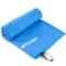 Охлаждающее полотенце Spokey Sirocco 80х150, быстросохнущее, синее