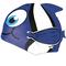 Шапочка для плавания детская Spokey Rybka (87470), темно-синяя