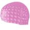 Шапочка для плавания Spokey Torpedo 3D (837549), для длинных волос, розовая