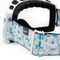 Фото 2 Лыжная сноубордическая маска (очки) Spokey Radium 926714, белая с голубым рисунком