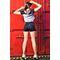 Фото 4  Корректирующие женские шорты с утяжкой Totalfit YH1-C10, черные