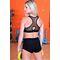 Фото 3  Спортивные женские шорты Totalfit H11-C10, черные