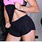Фото 2  Спортивные женские шорты Totalfit H11-C10, черные