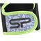 Фото 4 Перчатки спортивные велоперчатки женские Spokey ELENA II 921313 черные с салатовым