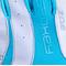 Фото 3 Перчатки женские для фитнеса и катания на велосипеде Spokey ZOE II 921316 белые с голубым
