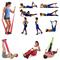 Фото 3 Резиновая лента для фитнеса 120x15 Meteor Fitness, с малым сопротивлением, красная