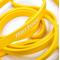 Фото 3 Тренажер-эспандер ленточный Meteor Rubber Band, extra light, нагрузка 0-7 кг, желтый