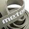 Фото 3 Тренажер-эспандер ленточный Meteor Rubber Band, medium, нагрузка 15-24 кг, серый