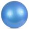 Фото 4 Фитбол (мяч для фитнеса) METEOR (31133) 65 см, с насосом, синий